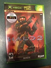 Halo 2 Xbox Original First Print Black Label Brand New Sealed