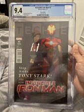 Invincible Iron Man #3 Anka RiRi Variant CGC 9.4