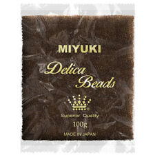 Wholesale Miyuki Delica Seed Beads 11/0 Matte Transparent Root Beer DB769 100g