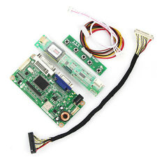 LCD Controller board (VGA + DVI) pour B141EW04 V.4 QD14TL02 LP154W01-A1 N154I3-L03