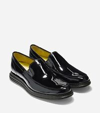 $230 Cole Haan Grand Venetian 11.5 Black Patent lunar formal shoe wedding