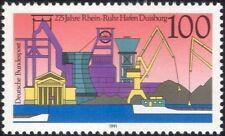 Germany 1991 Duisburg/Ships/Boats/Port/Coal Mining/Industry/Transport 1v  n44980