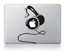 "Sticker Decal pour Macbook Pro Air 13"" Casque audio DJ Head Phone"