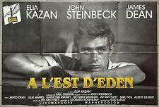 Affiche A L'EST D'EDEN East of Eden JAMES DEAN Elia Kazan R80x120cm