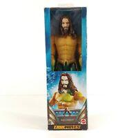 Aquaman True Moves 12 inch Mattel DC Aquaman Movie Action Figure NEW