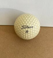 Vintage 1983 PGA Practice Riviera Country Club Titleist 8 Lucky Number Golf Ball