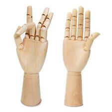 "Right Left Hand Male Body Artist Manikin Model Drawing Mannequin 11.8""Wooden New"