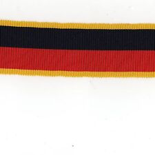 "Medal Ribbon. HAC Territorial Efficiency Medal Sold in 6"" lengths"