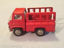 """RARE  vintage 1960 marx RED pick up TRUCK excellent COND. 3.5"""" LONG"""