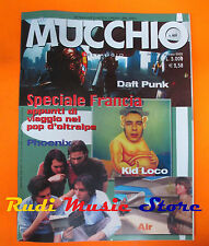 Rivista MUCCHIO SELVAGGIO 469/2002 Daft Punk Phoenix Kid Loco Air Elisa No cd