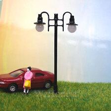 5 x OO / HO gauge Model Train Lamps Railway Lamp posts 12V Street Lights #006