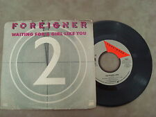 """FOREIGNER- I'M GONNA WIN/ WAITING FOR A GIRL LIKE YOU   7"""" SINGLE"""