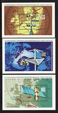 Germany DDR 1362-64 MNH OG 1972 Meteorologist Meeting 3 Mini Sheets Very Fine