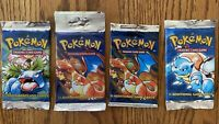 Pokemon WOTC Base Set ONE BOOSTER PACK! Artworks First Come First Serve!