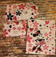 Disney Minnie Mouse Silhouette Twin Sheet Set