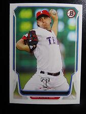 2014 Bowman #3 Derek Holland Texas Rangers Baseball Card