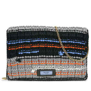 Prada Knit Wool with Fabric Tricot Bag - Choose color