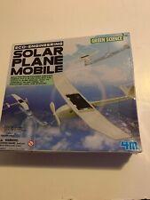 Solar plane Mobile educational toys preschool learning Green Science Brand new