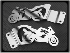 Polished Heel Plates for YAMAHA R1 - 1998 to 2003, YZF 1000 R (Foot Guards)