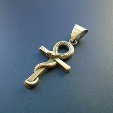 Exclusive silver 925 pendant EGYPTIAN KEY OF LIFE CROSS ANKH Necklace Jewelry