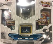Pokemon Zekrom Box Gift Set.  Promo, Boosters, And More CCG TCG