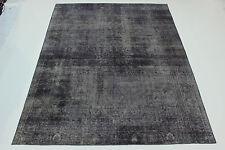 design vintage pierre laver usé aspect PERSAN TAPIS tapis d'Orient 3,70 x 2,84