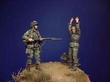 1/35 U.S 101st Airborne & P.O.W set(normandy 1944)