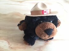 "5"" RCMP Royal Canadian Mounted Police Bear Plush Stuffed Toy"