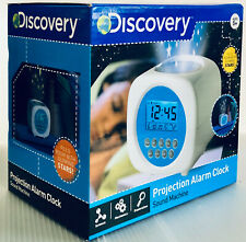 NEW DISCOVERY KIDS DIGITAL PROJECTION ALARM CLOCK SOUND MACHINE COLOR GLOW STARS