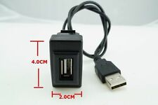 ISUZU D-MAX MU-7 2012 PORT USB IN SOCKET AND CABLE SIZE 4.0 X 2.0 cm