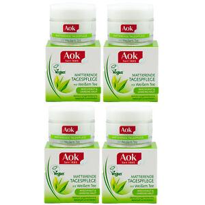 Aok mattierende TAGESPFLEGE -Mischhaut-Unreine Haut -gegen Unreinheiten 4 x 50ml