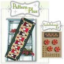 Topsy Turvy Santa Happy Hollow Pattern Plus Embellishment 595P Christmas