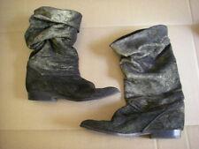 Laurel (Escada) Mid-calf Suede Boots 1990s
