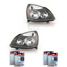 Headlight Set for Renault Clio II Bb0/1/2 Cb0/1/2 09.98- Incl.