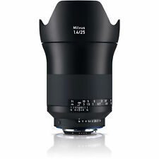 New Carl Zeiss Milvus Distagon T* 25mm F1.4 ZF.2 Wide Angle Lens Nikon F Mount