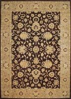 Traditional Hand made Modern Chobi Area Rug Brown/Beige Turkish Rugs (10 x 14)