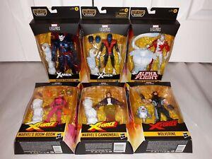 Marvel Legends X-Men X-Force Wendigo BAF COMPLETE MISP Mr Sinister Nightcrawler