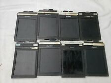"lisco regal II film holders format 4""×5"" lot of 8"