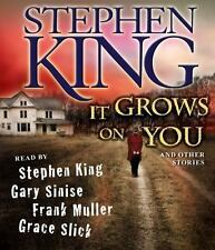 5 CD's-It Grows on You-And Other Stories by Stephen King (2009, CD, Unabridged)