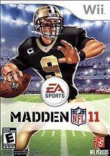 Nintendo Wii : Madden NFL 11 VideoGames