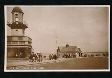 Lancs Lancashire FLEETWOOD Life Boat House RP PPC c1950s?
