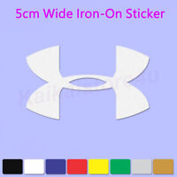 Under Armour Iron-On Sports LOGO DIY T-Shirt  Heat Transfer PU Sticker Patch