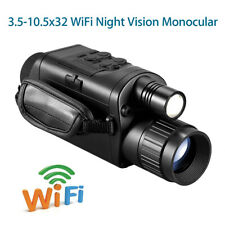 Digital Wifi Night Vision 8GB Monocular 3.5-10.5x32 Scope Camera for Android IOS