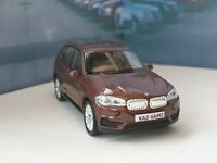 PERSONALISED BMW X5 - BROWN 1.38 DIECAST MODEL CAR BOXED PRESENT GIFT CHRISTMAS