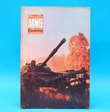 Armeerundschau 10-1971 NVA Volksarmee Soldaten DDR Renate Blume Dresden Prag T