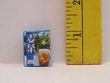 Re-Ment Doll Miniature 1/6 Littles Rare Camping Tea Bag Box Accessory Retired