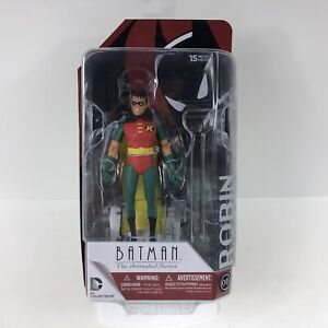 "Batman The Animated Series Robin 5.5"" Action Figure DC Collectibles NEW"