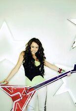 Miley CYRUS SIGNED Autograph Photo 12x8 RARE AFTAL COA Sexy Singer
