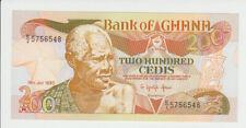 Ghana 200 Cedi 1990 Pick 27b UNC