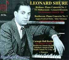 Leonard Shure: Piano Works (CD, Jul-2013, 3 Discs, Doremi Records)